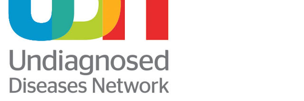 "Logo reading ""Undiagnosed Diseases Network, UDN"""