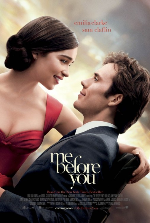 'me before you' movie poster