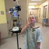 Ben in the hospital.