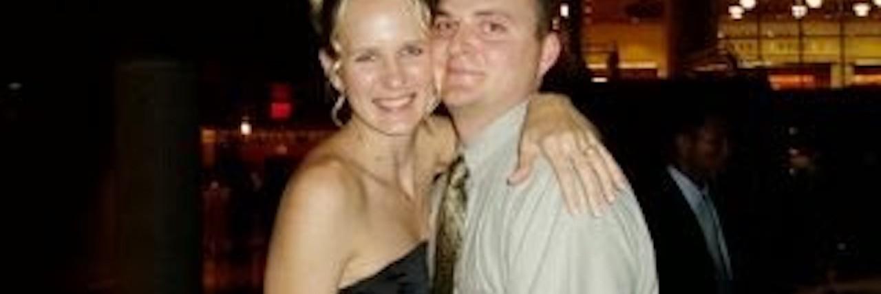 Wendi and her husband, John