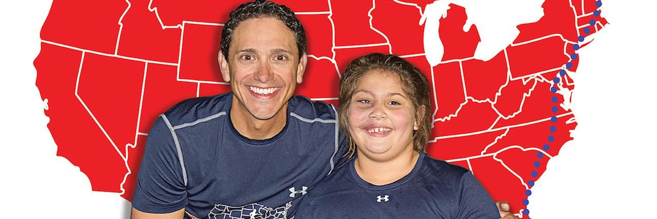 Al DeCesaris and niece Jenna Heck