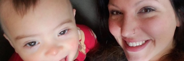 Becky Brately and her son, Zak