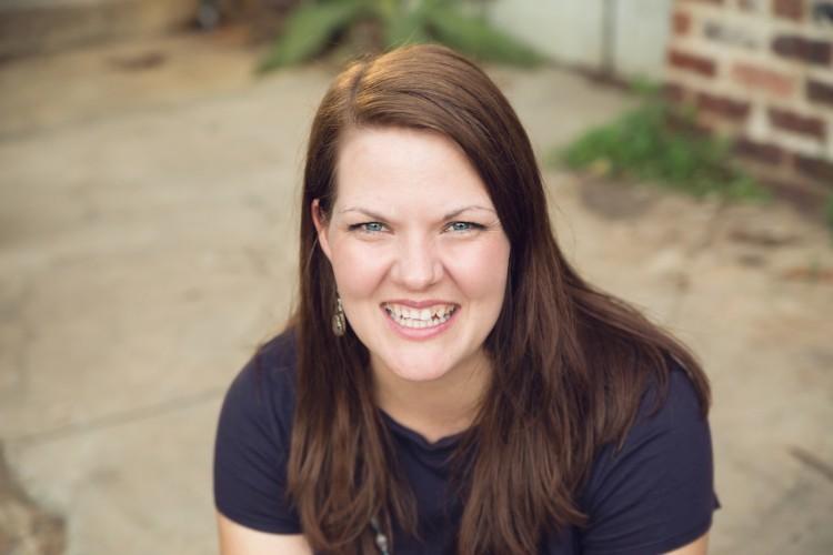 headshot of the author