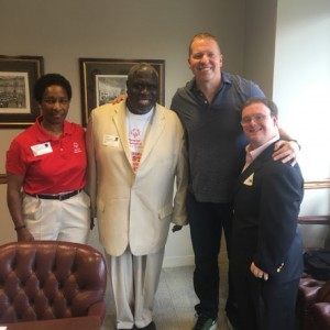 Gary Owen and disability advocates
