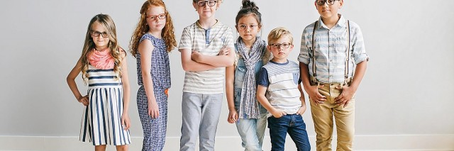 Many children wearing Jonas Eyewear