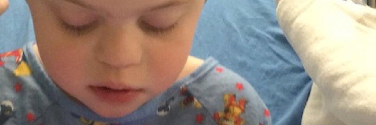Julie Gerhart-Rothholz's son, Evan