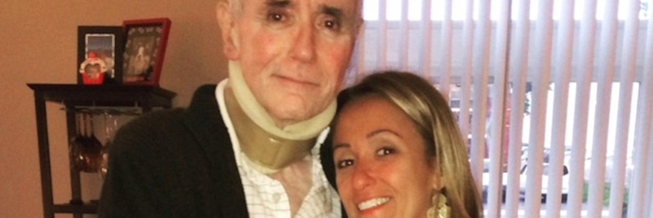 Lisa Ingrassia and her father