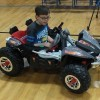 One of B.A. List's Rock Creek students tests out an adapted toy car.