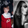 thee photos side by side: the author as a child, the author at a low moment and the author in recovery