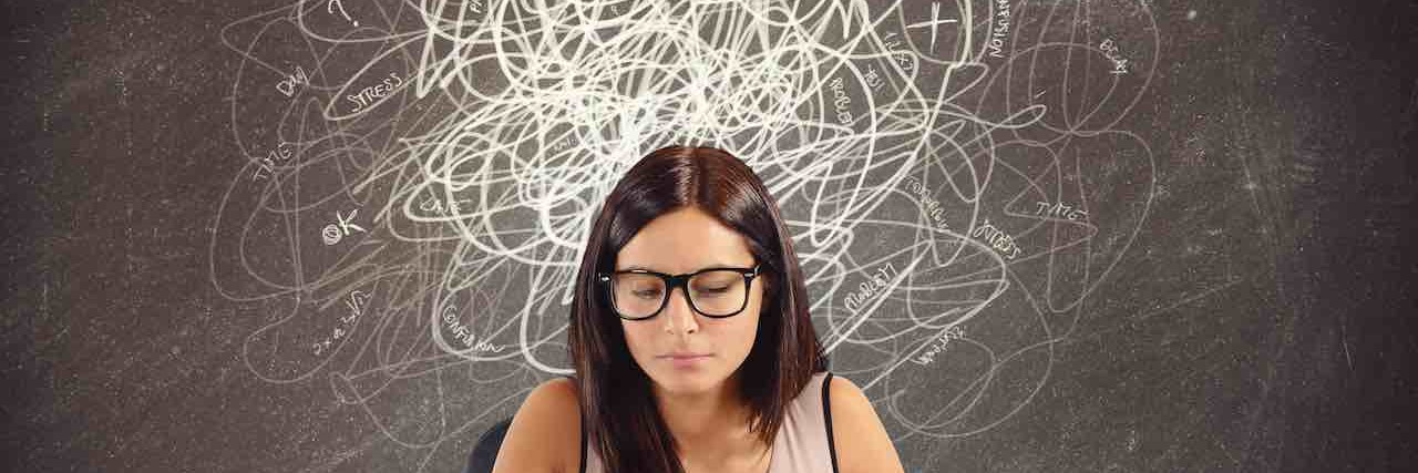 teacher with doubts and gaps in matters