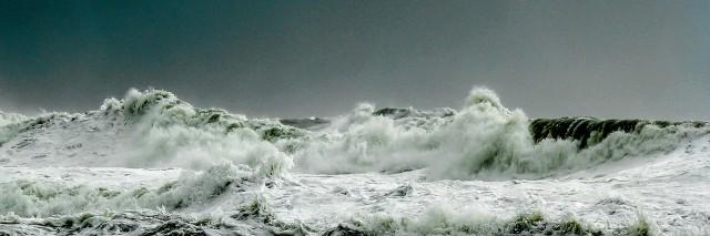 stormy sea english channel