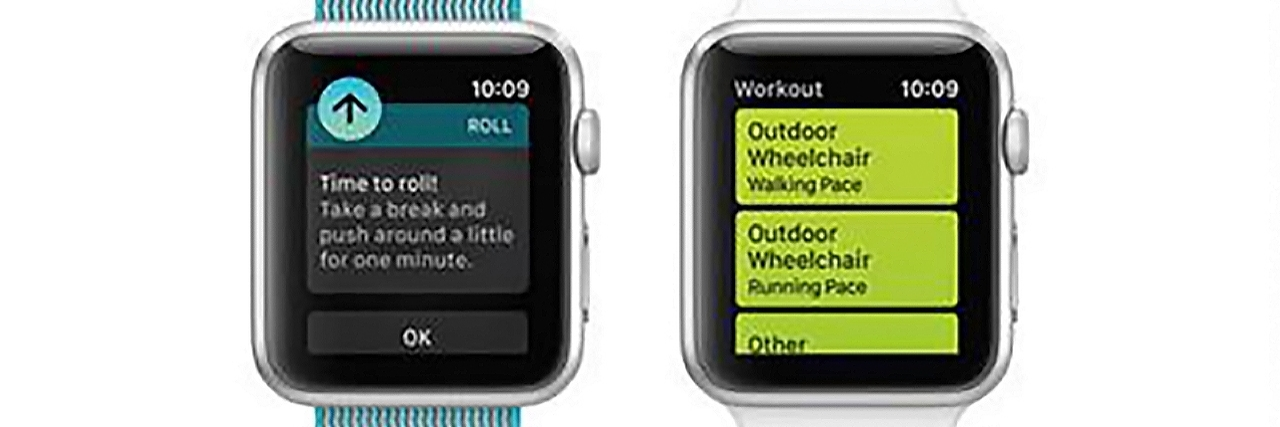New wheelchair fitness features in Apple watchOS 3.0.