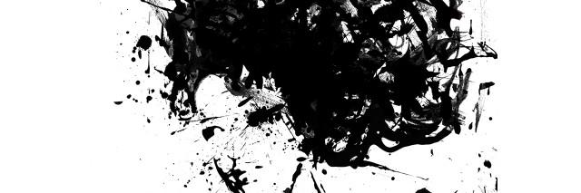ink blot woman
