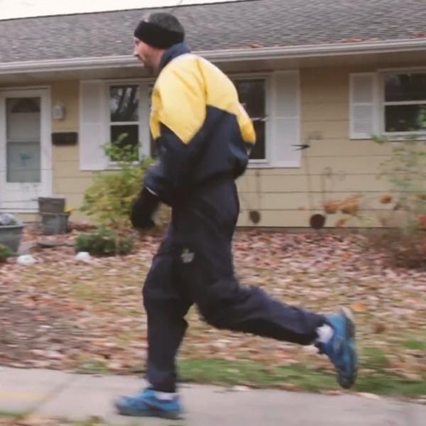 Jim Chalmers running.
