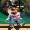 Owen on the playground.