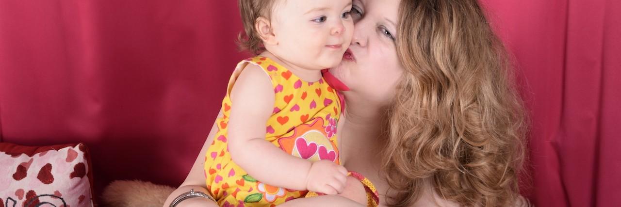 rachel dawn nesmith and her baby daughter