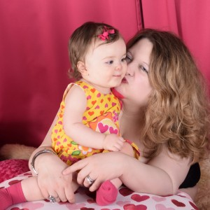 rachel dawn nesmith and her baby daughter