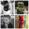 pictures of little boy with autism at sesame place