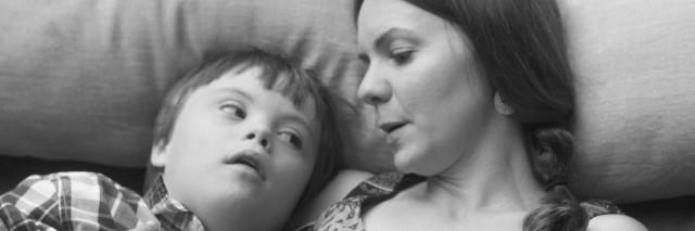 Andrea Chervenak and her son
