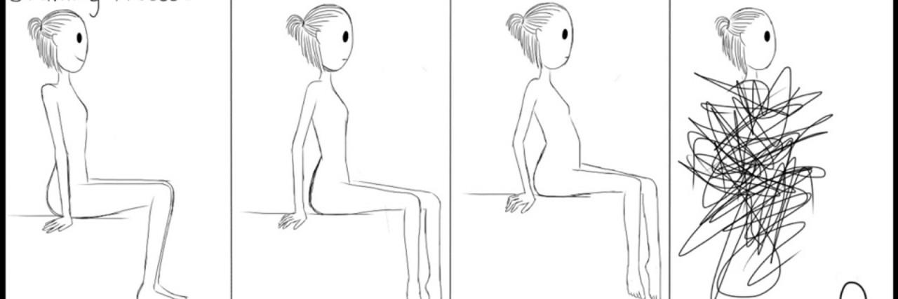 Cassie Q Bodies Illustration