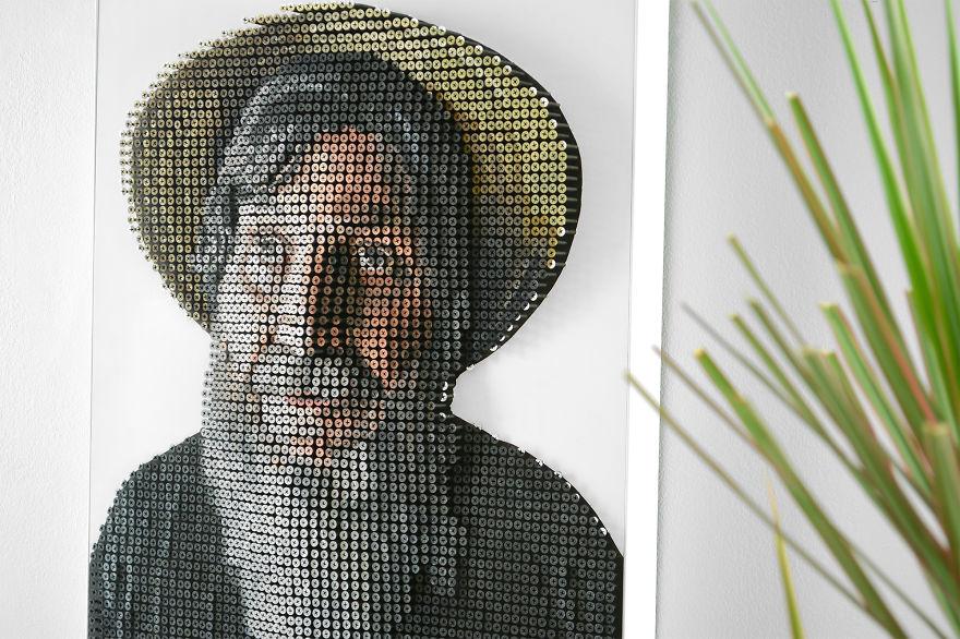 George Wurtzel's Final Portrait in Screw With Paint