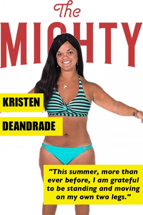 Kristen DeAndrade's cover