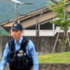 two police officers at stabbing in japan