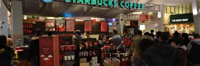 A photo of an Ontario Starbucks location