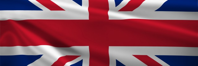 U.K. Flag.