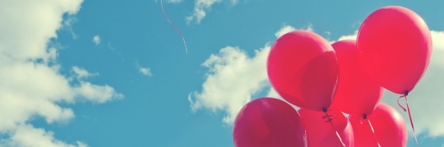 Balloon in the sky.