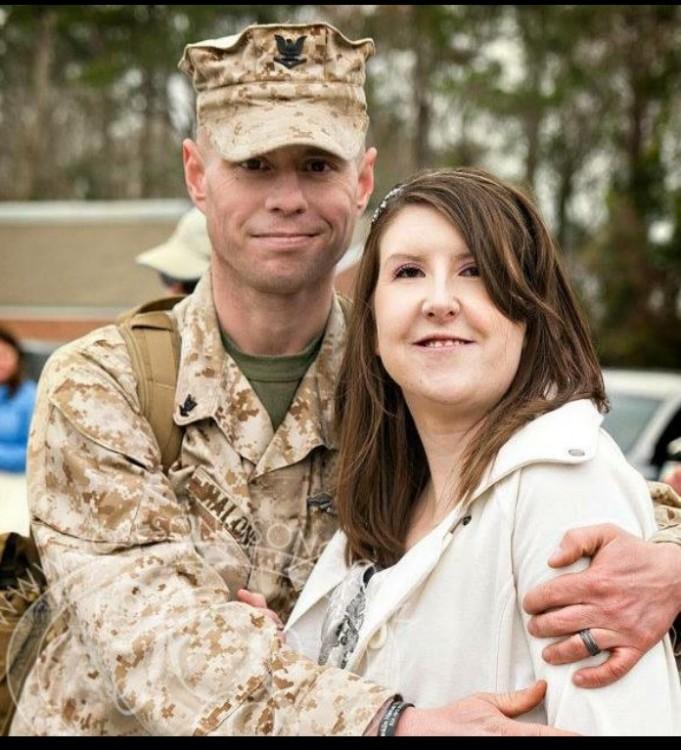 Samantha and her husband