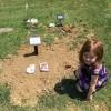juliet at david's grave
