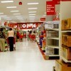Interior of Target store