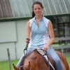 Ashley Sherman riding a horse