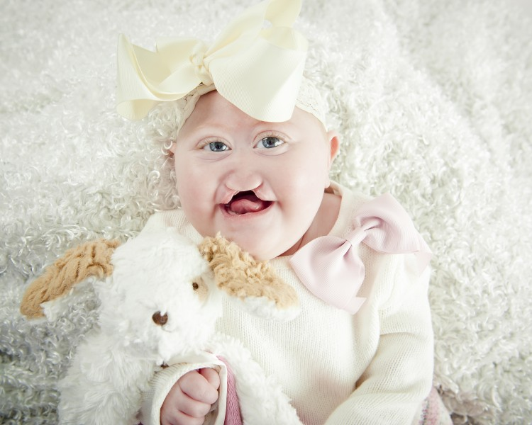 Baby Girl photographed by Kathleen Batts