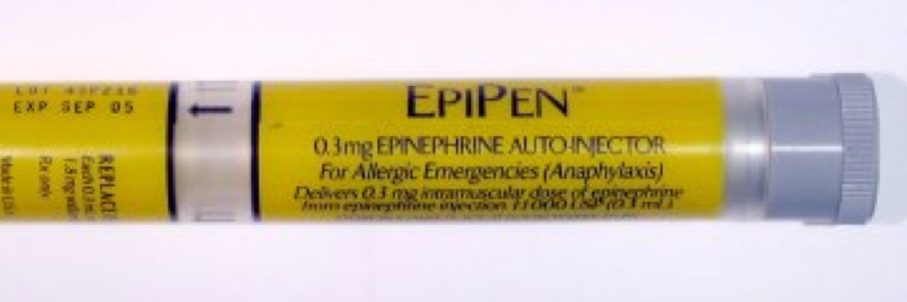 Image of an EpiPen