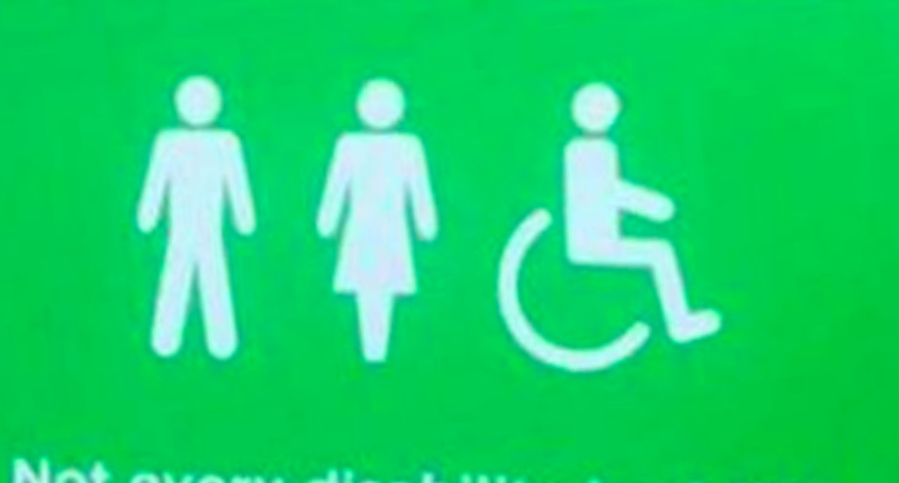 Asda Disabled Bathroom Sign Welcomes Those With \'Invisible ...