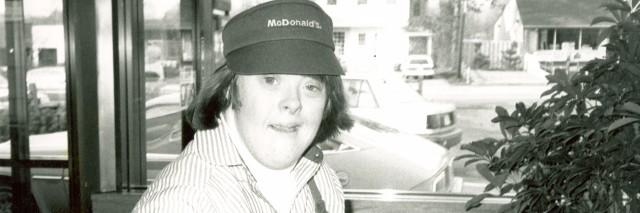 Freia at McDonald's 1984