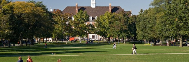 fall day on the quad