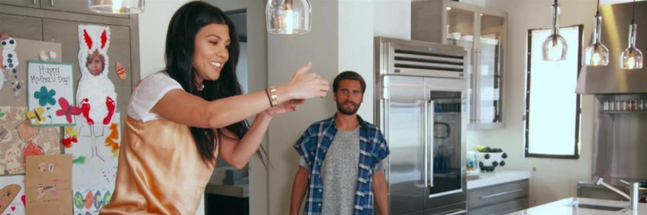 kourtney kardashian in an episode about food allergies