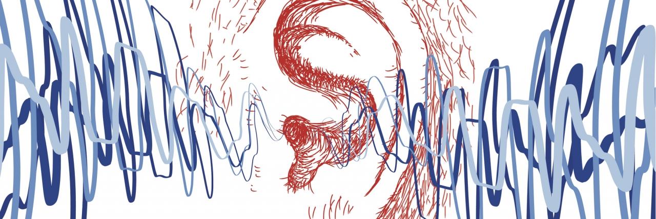 illustration of a human ear