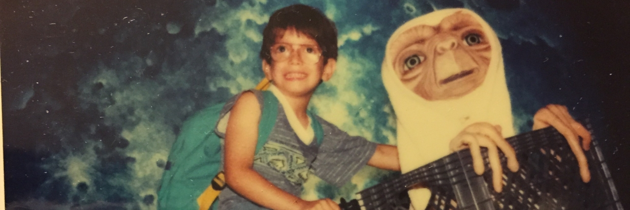 Jonathan-Joseph as a child.