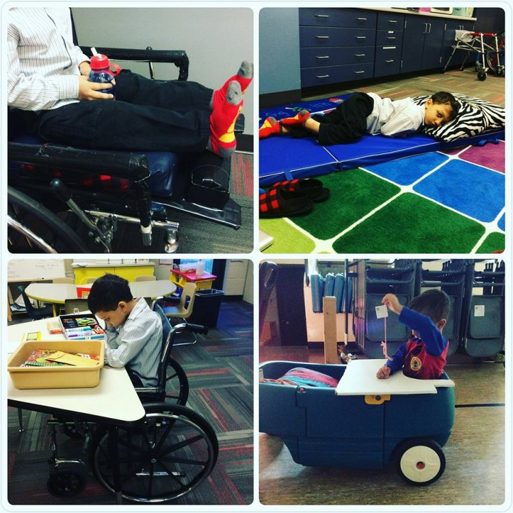 Examples of how Ms. Penni made their school life more comfortable.