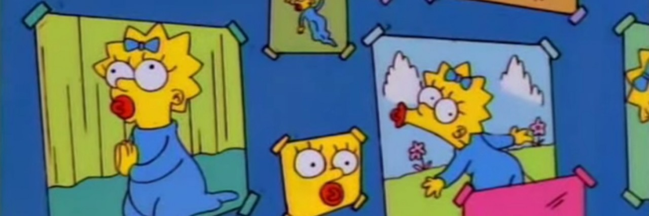 Photos of Maggie Simpson from The Simpons