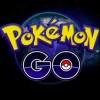 pokemon go logo on black background
