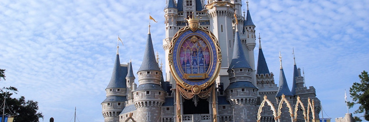 cinderella castle at disney world