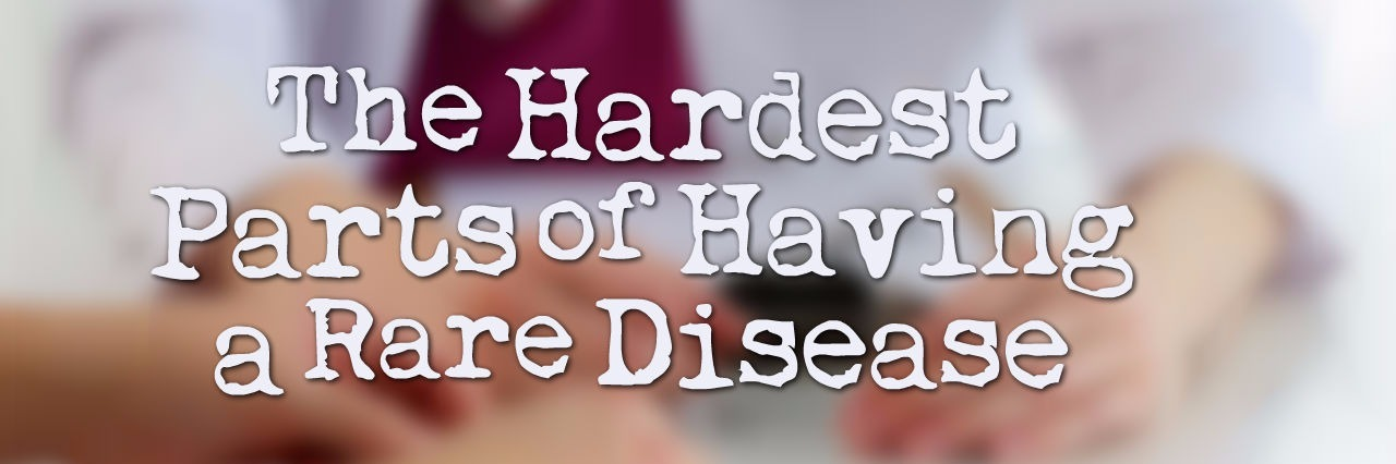 The Hardest Parts of Having a Rare Disease, picture of patient and doctor's hands