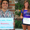 3 people holding up their recovery month signs