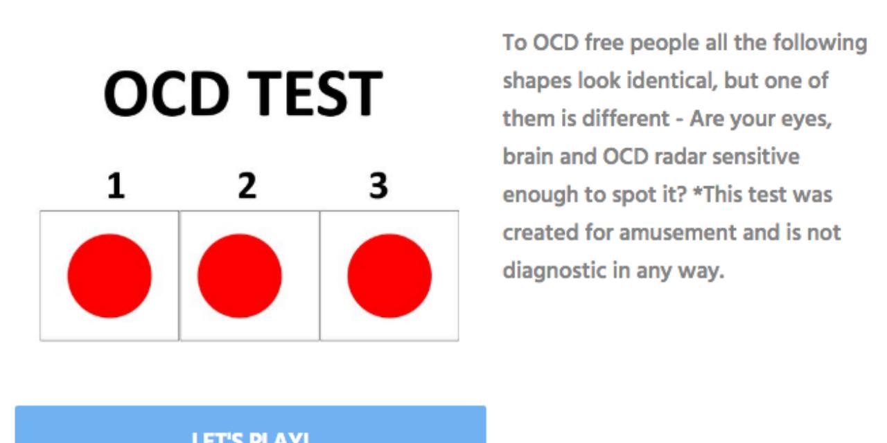 Do You Have OCD? - playbuzz.com