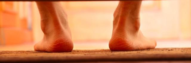 feet on the floor